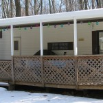 patio cover built for front porch of RV