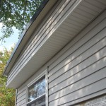 siding installed for mobile home