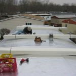 MacHose contractors reroofing mobile homes