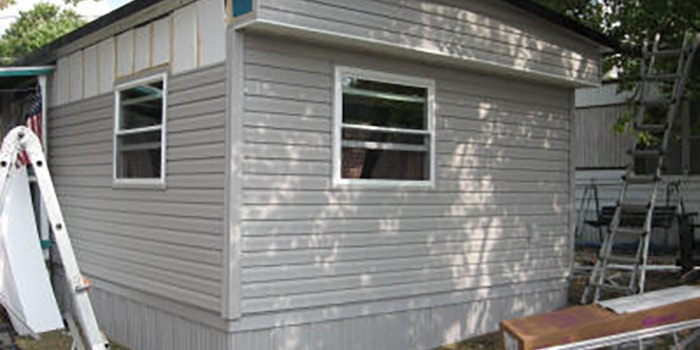 Mobile Home  siding and roofing
